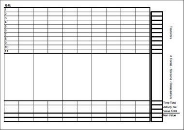 Makigami template - end section